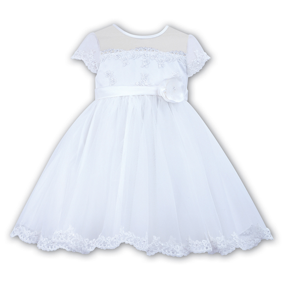 Sarah Louise Ceremonial Ballerina Length Christening Party Dress 70007