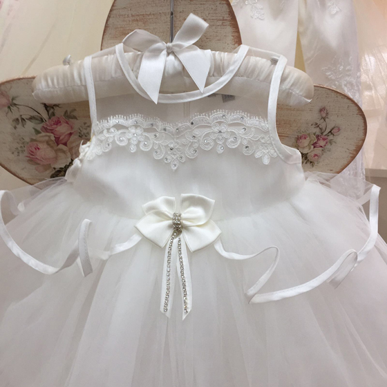 CT14392 Coute Tot Christening Dress