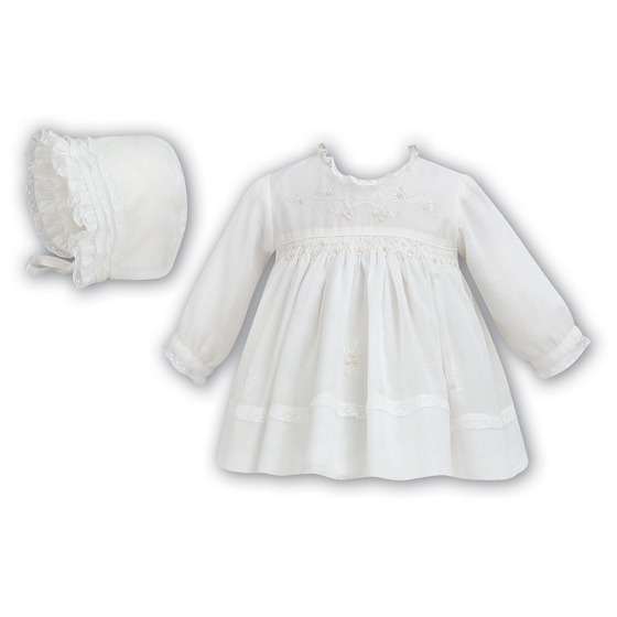 Sarah Louise Christening Dress and Bonnet 199