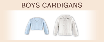 Boys cardigans for all occassions