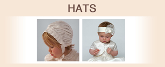 irls hats for christenings