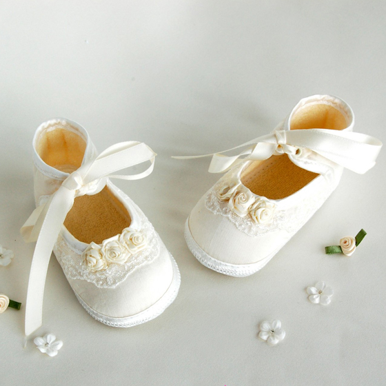 Girls Christening Shoe